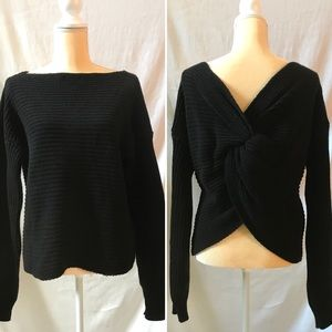 missi london Sweaters - ONLY 2 LEFT!!!❤️ REVERSABLE KNOT SWEATER